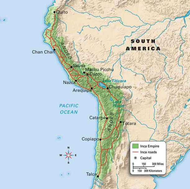 Map - Welcome to the Museum of Peru: The Incas